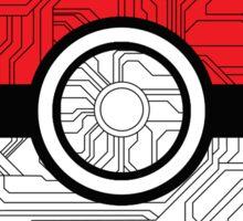 Electric Pokeball Sticker