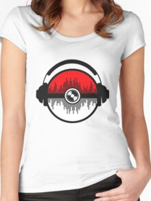 Poke and Sound Women's Fitted Scoop T-Shirt