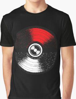 Poke and Music Graphic T-Shirt
