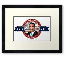 Vote Ted Cruz 2016 Framed Print