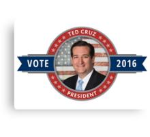 Vote Ted Cruz 2016 Canvas Print