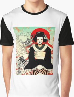 Geisha antique japan Graphic T-Shirt