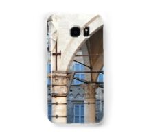 Arches and columns creating a portico in Siena. Samsung Galaxy Case/Skin