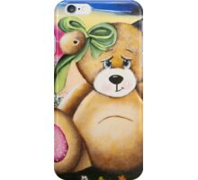 Un ourson aux aurores iPhone Case/Skin