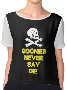 Goonies distressed Chiffon Top