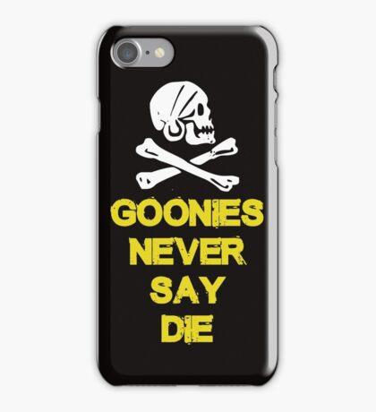 Goonies distressed iPhone Case/Skin