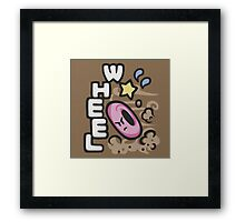 Kirby Wheel Framed Print