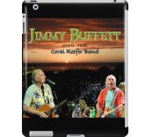 MIC03 Jimmy Buffett and the Coral Reefer Band TOUR 2016 iPad Case/Skin