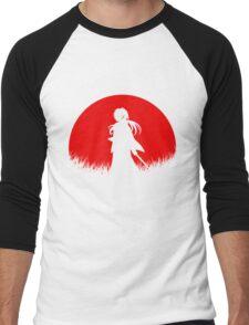 Red Moon Samurai Men's Baseball ¾ T-Shirt