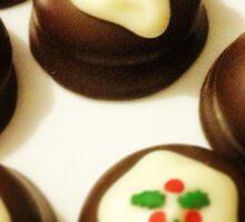 Christmas Puddings Sticker