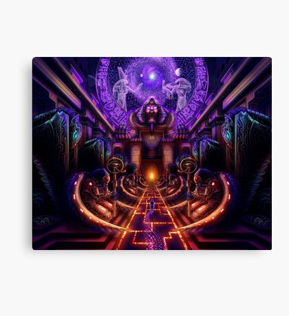 """The Key is within"" Canvas Print"