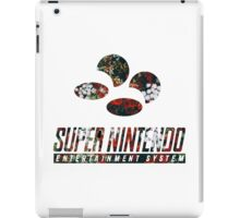 SNES Roses iPad Case/Skin