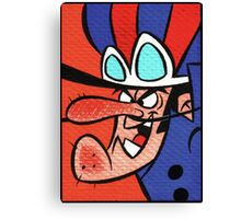"Dastardly ""I will catch you"" Canvas Print"