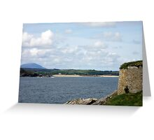 View from Dunree Fort Greeting Card