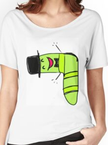 charming worm Women's Relaxed Fit T-Shirt