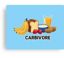 Carbivore Canvas Print