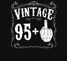 Vintage middle finger salute 96th birthday gift funny 96 birthday 1920 Unisex T-Shirt