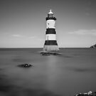 Penmon Lighthouse by Ian Mitchell