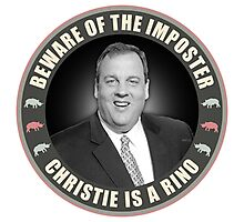 Christie Is A RINO Photographic Print