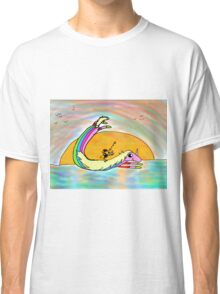 rainbow horse Classic T-Shirt