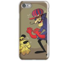 Dastardly and Muttley Make Peace not War iPhone Case/Skin