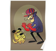 Dastardly and Muttley Make Peace not War Poster