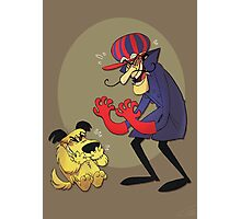 Dastardly and Muttley Make Peace not War Photographic Print