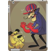 Dastardly and Muttley Make Peace not War iPad Case/Skin
