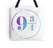 Harry Potter 9 3/4 Tote Bag