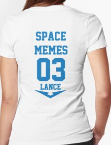 Voltron - Space Memes Womens Fitted T-Shirt