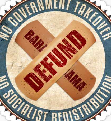 Defund Barack Obama Sticker