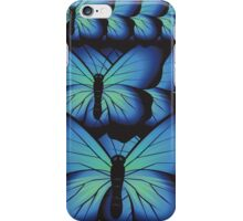 layer butterflies iPhone Case/Skin