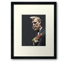 Daniel Craig Framed Print