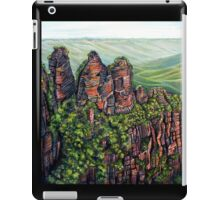 Etched in Time, Blue Mountains iPad Case/Skin