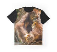Orangutan - Snack Time Graphic T-Shirt