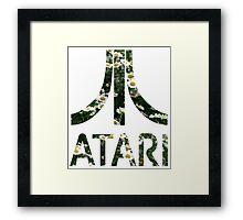Atari Floral Framed Print