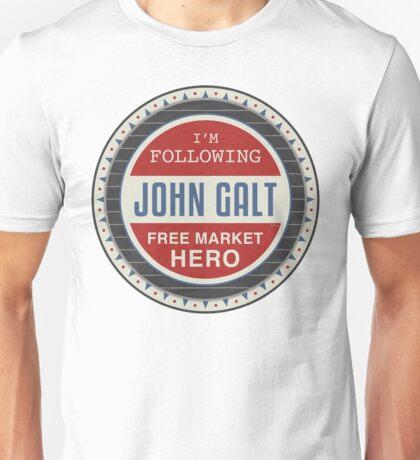 Vote President John Galt Unisex T-Shirt