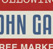Vote President John Galt Sticker