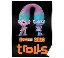 Trolls movie 2016 Poster