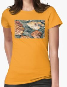 A Stone Wall  Womens Fitted T-Shirt