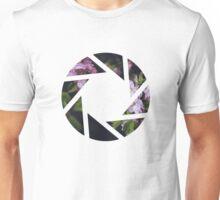 Aperture Floral Unisex T-Shirt