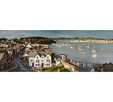 Conwy Panorama Photographic Print