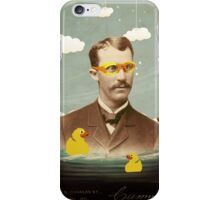 Keeping his head above water iPhone Case/Skin