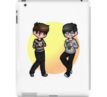 [Dan And Phil] Classic White girls. iPad Case/Skin