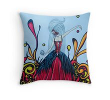 Death held in hand Throw Pillow