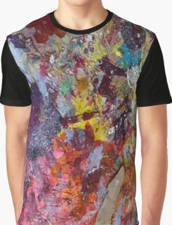 Earth map from Mars Graphic T-Shirt