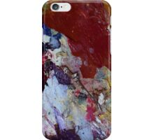 Earth map from Mars iPhone Case/Skin