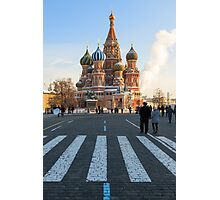 St. Basil's Cathedral Photographic Print
