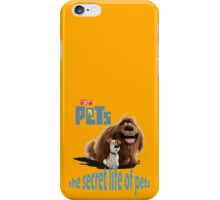 The Secret Life Of Pets Movie  iPhone Case/Skin