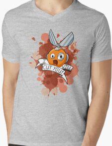 I WILL CUT YOU! Mens V-Neck T-Shirt